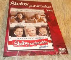 """""""Śluby panieńskie""""- film DVD- 97 minut"""