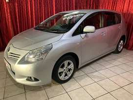 2010 Toyota Verso 1.6SX 7 seater with full service history