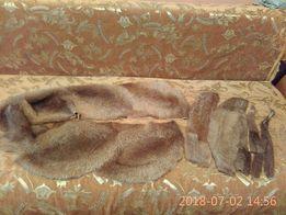 шкурки из нутрии хватит на жилетку для 44-46 размера