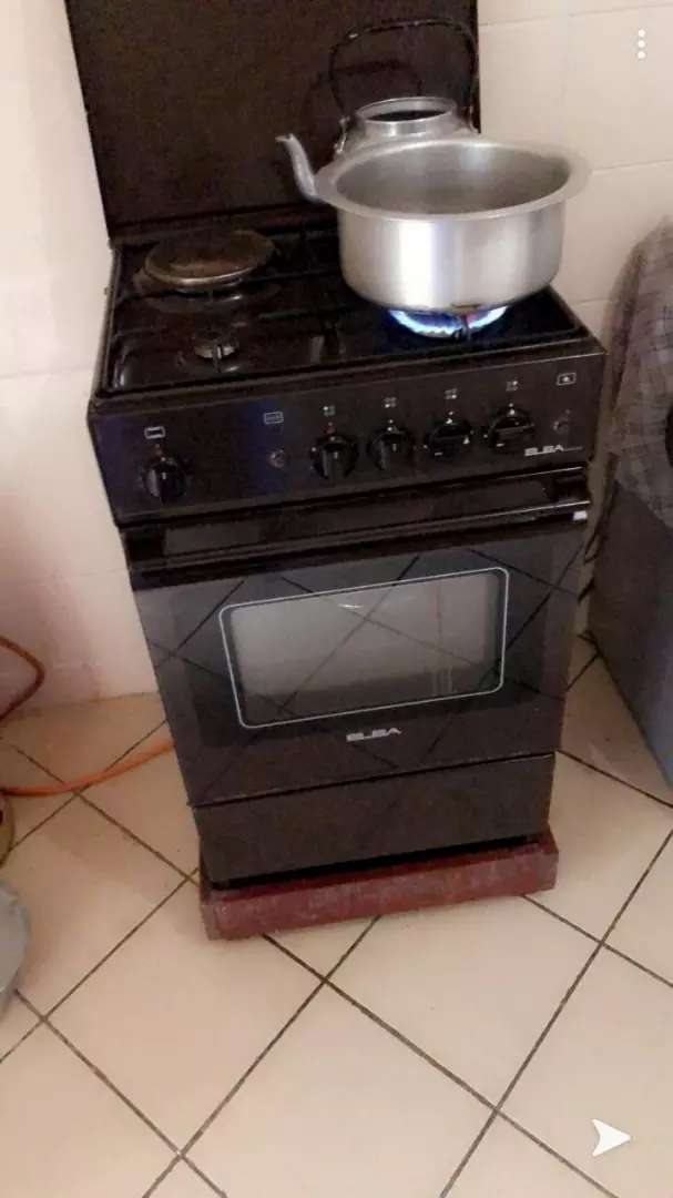Fridge and cooker 0
