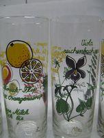 Стакани скляні із розписом