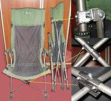Ремонт стула рыбака туриста кресла рыбацкого туристического кемпинга