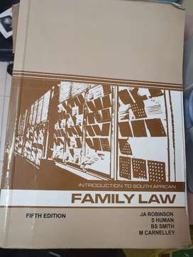 Introduction to southern African family law