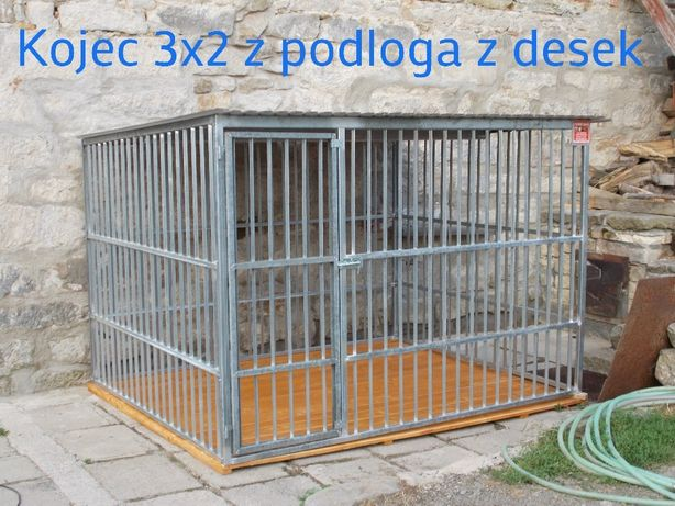 Kojec dla psa, klatka, boks 3x2 ocynkowany Kościerzyna - image 2