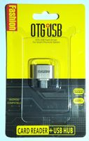 OTG USB - micro USB Переходник адаптер для телефона, планшета