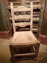 krzesła dębowe holenderskie 11szt. przecier Prowansja