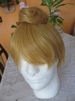 peruka dzwoneczek tinkerbell włosy bal przebranie cosplay blond wróżka