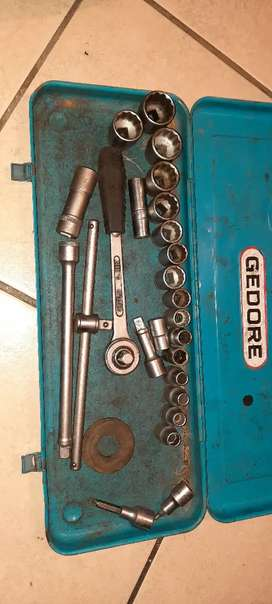 Full gedore socket set