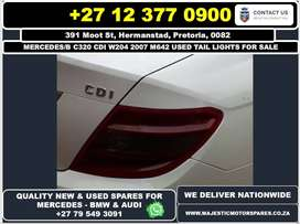 Mercedes Benz C320 cdi used tail lights for sale
