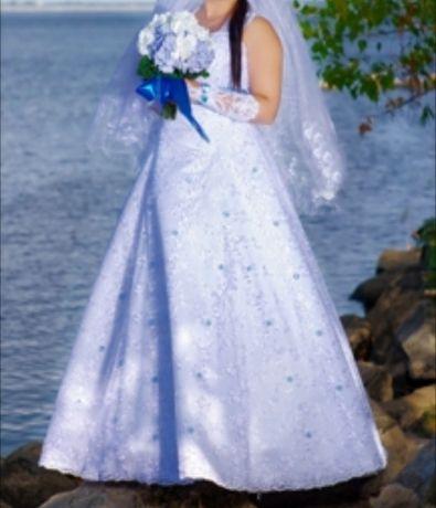Свадебное платье 44-46 р