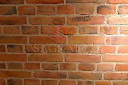 Декоративный гипсовый крашенный кирпич(плитка) Старинный от Sagrado