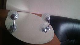 NOWE Lustro łazienkowe podświetlane owalne