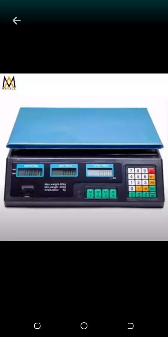 Digital weighing scale machine 0