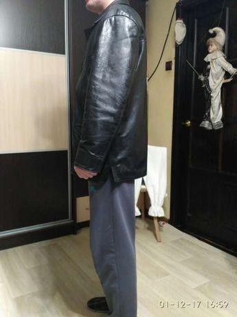 Чоловіча шкіряна куртка 52-го розміра. Львов - изображение 4