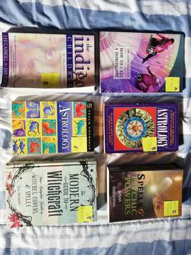 Astrology / psychic / spell books /wicca / witchcraft / tarot