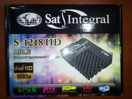 Спутниковый тюнер Sat-Integral S-1218HD Able (прошитый)