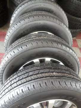 """18"""" Ford Ranger mag wheels and tyres"""