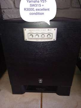 Yamaha YST-SW315 & RSW300 subs for sale