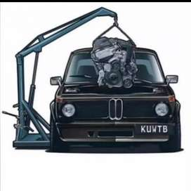 We do mobile service and Repairs on All BMWs and other makes