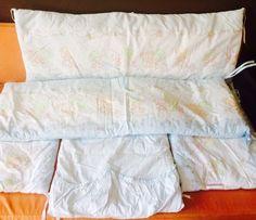 Защита на детскую кроватку, подушечка и балдахин