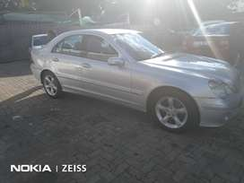 2007 Mercedes Benz C180,11000km for R90000
