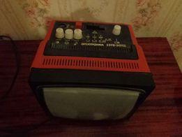 Раритет! телевизор из СССР автомобильный /дачный Электроника 23ТБ-307Д