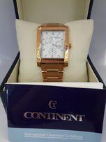 Продам мужские часы CONTINENT. Нержавеющая сталь. Позолота. Кварц.