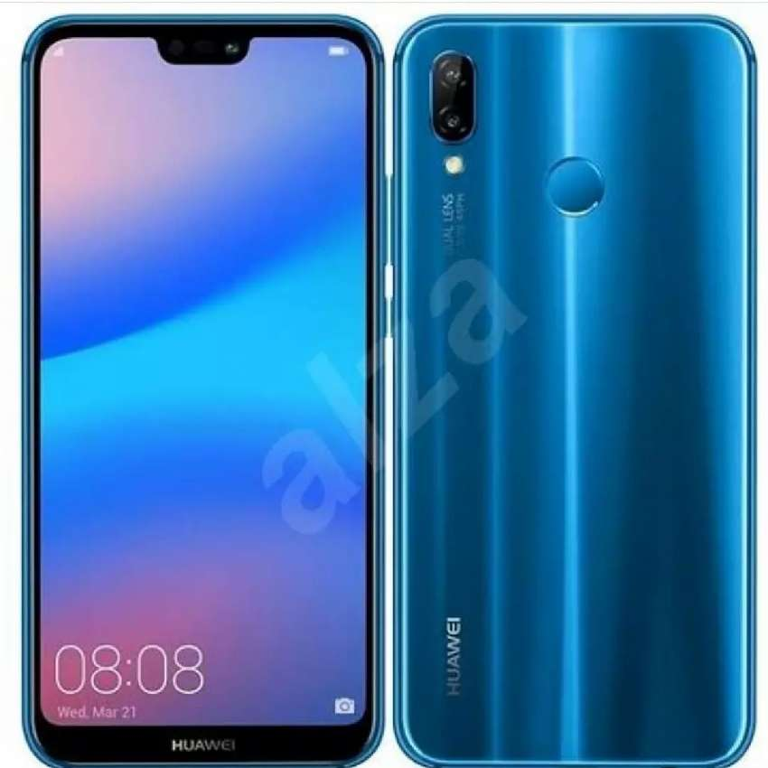 Blue P20 lite, used for 8 months 0
