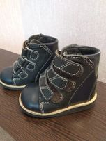 Ортопедические детские ботинки, ботиночки (14 см)