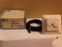 Терморегулятор с датчиком, 10 А, ENSTO для системы теплый пол