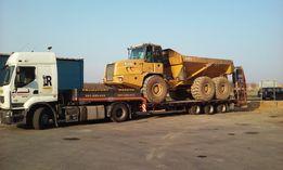 Transport niskopodwoziowy, Podczołgówa, Transport Maszyn