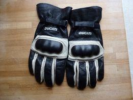 Rękawice DUCATI Paul Smart Nowe Skórzane XL.