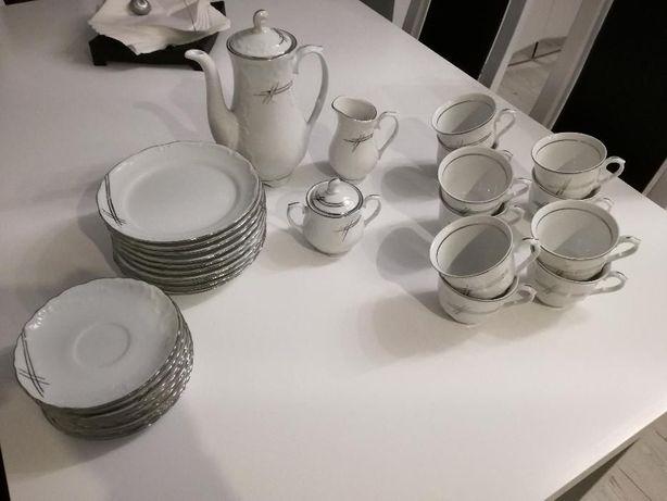 NOWA Porcelana Chodzież zestaw kawowy / deserowy na 10 osób Będzin - image 1