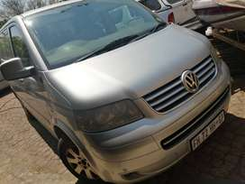 VW Caravelle 2007, 2.5td, 4 Motion, 6 speed manual