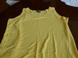 Nosch Collection koszulka top bluzka na ramiaczkach t-shirt 46/48
