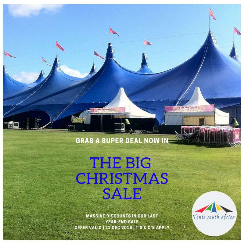 TENTS SOUTH AFRICA CHRISTMAS SALE 0