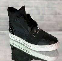 Мужские высокие ботинки Philipp Plein / Valentino / Louis Vuitton