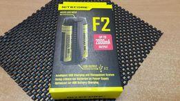 Nitecore F2 зарядное устройство 2х18650 IMR/Li-Ion 26650 14500 зарядка