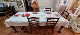 Emboya ball and Claw dining room set