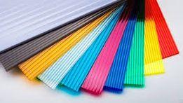 Поликарбонат цветной и прозрачный от производителя для навесов, теплиц