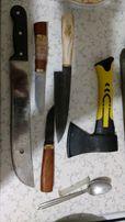 Ручная заточка ножей, топоров, мачете