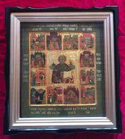 Икона Житие Св. Николая