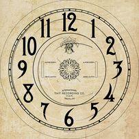 Циферлат настенных, старинных часов INTERNATIONAL, LENZKIRCH, Junghans