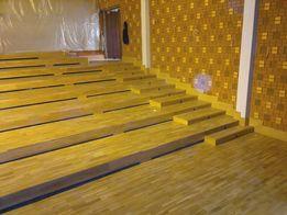 Cyklinowanie bezpyłowe, układanie parkietów, renowacja schodów