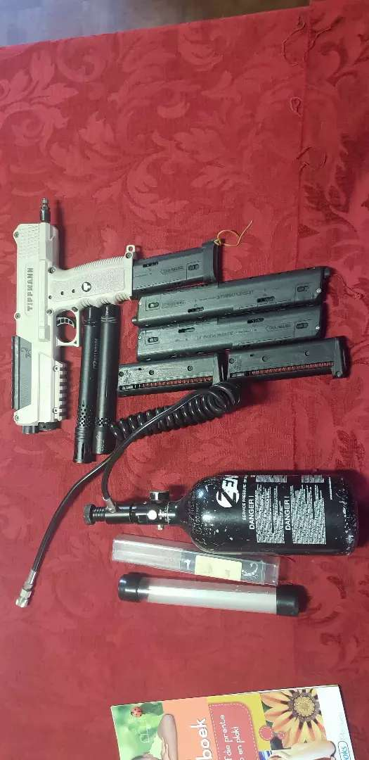 Pro TPX paintball gun kit 0