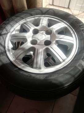185/65R14 tyres and rims