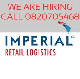 Imperial logistics looking for general workers,Drivers and Engineers