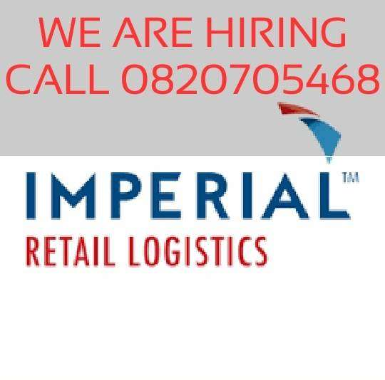 Imperial logistics looking for general workers,Drivers and Engineers 0