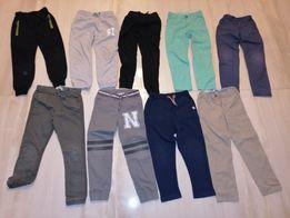 Spodnie 122/128 Zara, Reserved, H&M...