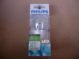 Żarówka Philips LED duży gwint E27, mały gwint E14 ciepła biel, 2 Wat